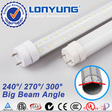 V-shape low freight CE Germany china young tube 18w t8 led red tube