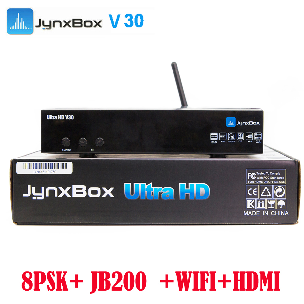 IKS free + USB wifi+ ATSC + 8PSK <strong>tuner</strong>+ cccam/newcamd <strong>satellite</strong> <strong>TV</strong> decoder Jynxbox V30 for north America