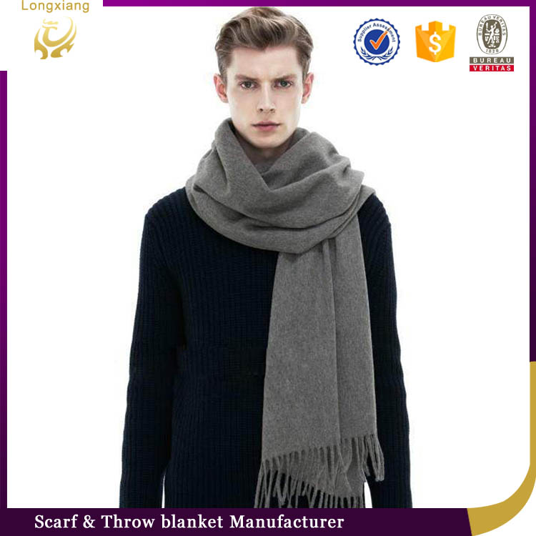 Indian Latest Fashionable Plain Kashmir Men Wool Shawls,Yak Wool Cape Shawl