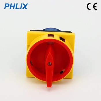 Combination switch Cam switch padlock type switch AC changeover switch Rotary isolator LW26GS switch