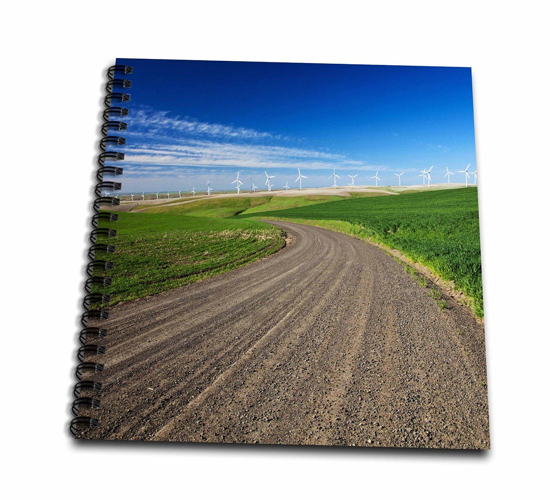 Danita Delimont - Energy - Palouse Wind Energy Generators, Washington, USA - US48 TEG0434 - Terry Eggers - Memory Book 12 x 12 inch (db_148736_2)