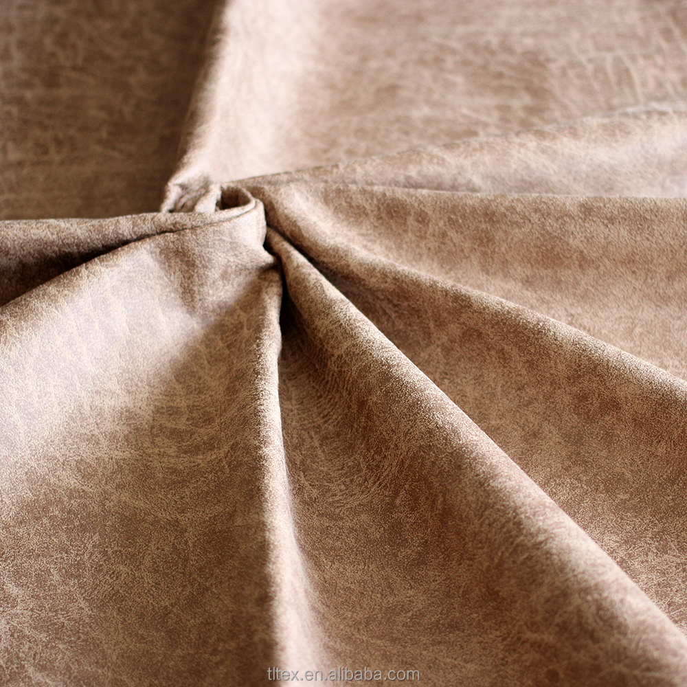 Hot sale bronzed suede/faux fur fabric 100%polyester bonded jaquard fabric for sofa Spain Turkey India market