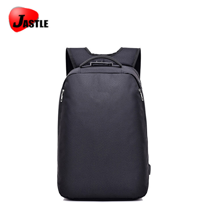 2018 New Design Polyesters Dark Custom Leisure Business Hiking Travelling Backpack Brands Logo