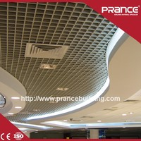 Suspended Ceiling Aluminum Ceiling Grid Dropped Ceiling