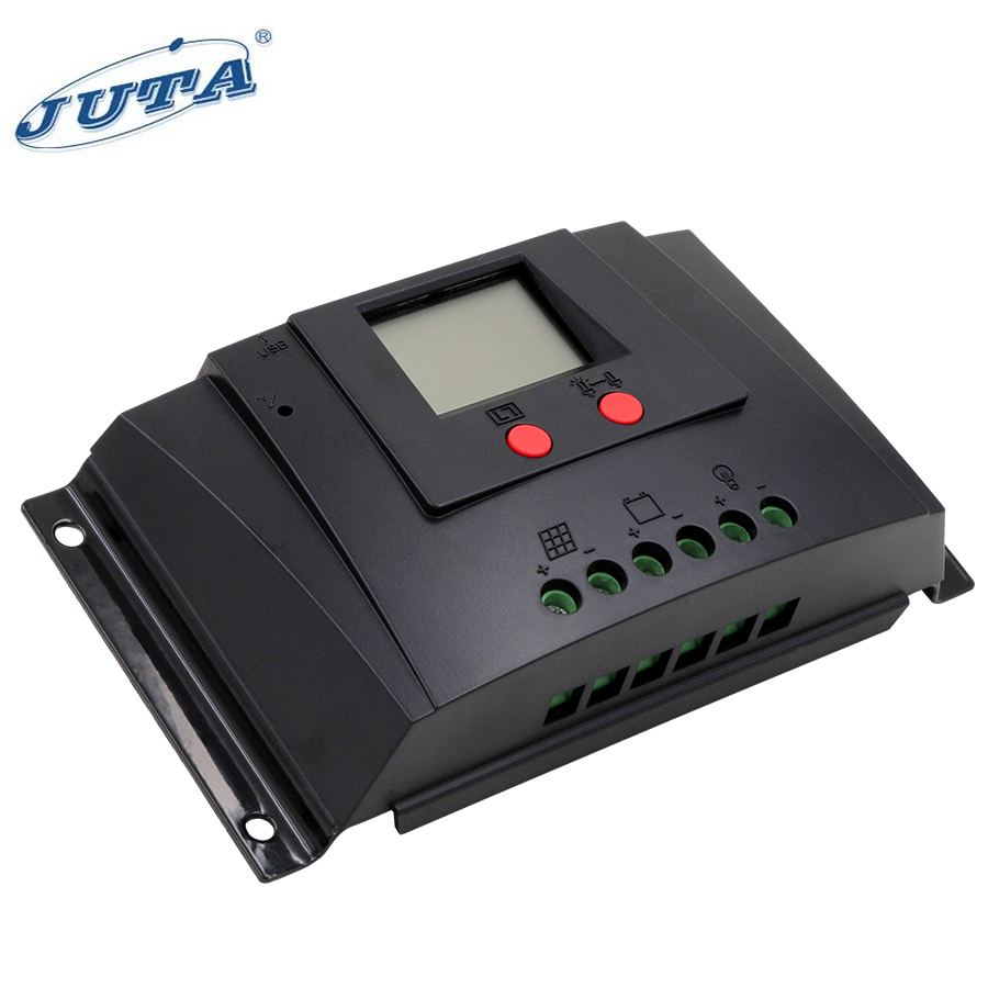 wuhan Juta PWM solar panel battery charger controller/regulator 20A 12V