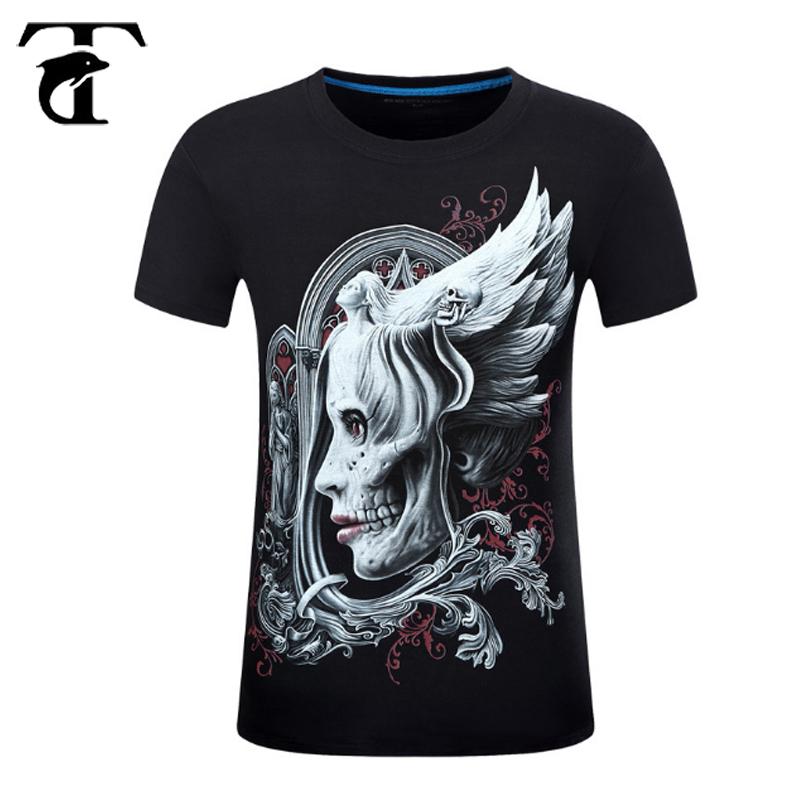 27cf37376 Moda personalizada Impresión digital barato personalizado camisetas  imprimir su propia camiseta 3D camisas para hombres