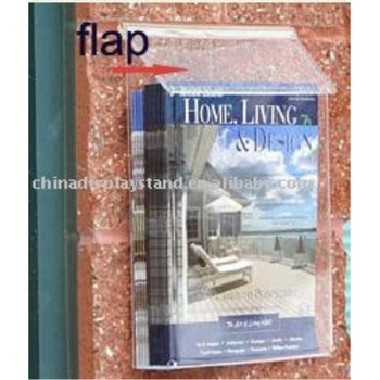 Outdoor Brochure Holder Y1308233 Acrylic Paper With A Cover