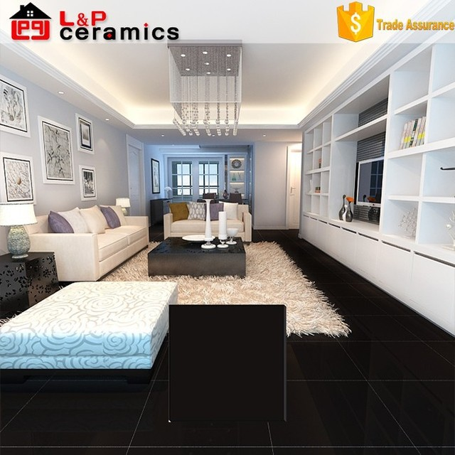 ... 600x600mm Full Body High Gloss Black Floor Tile ... Part 61