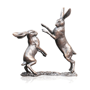 customized design decoration small bronze rabbit sculpture for sale BRM-19