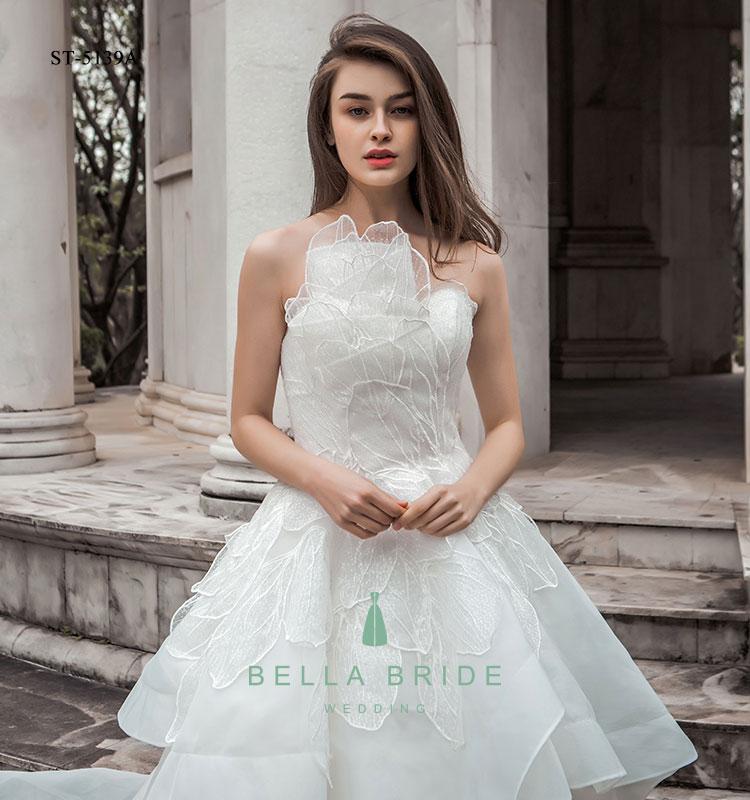 Simple Elegant Wedding Dresses Cina Produsen Grosir Harga Pernikahan