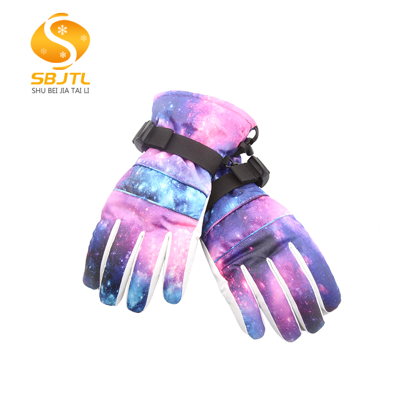 In pakistan hot selling waterproof warm mens snowboard skiing gloves with protection