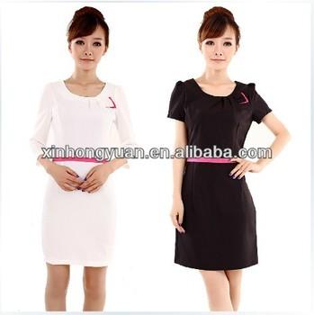 Hotel spa uniform fashion hotel design spa uniform salon for Spa uniform alibaba