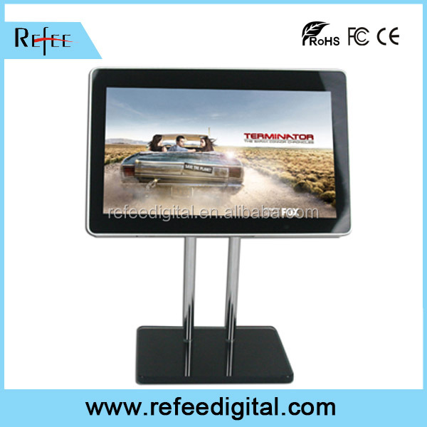 Refee table stand kiosk / table stand ad player / table stand digital signage