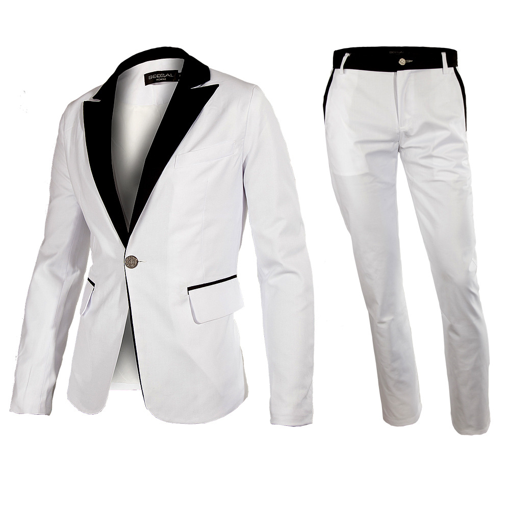 Buy 2015 New Men Dress Wedding Suit Men Korean Fashion Slim