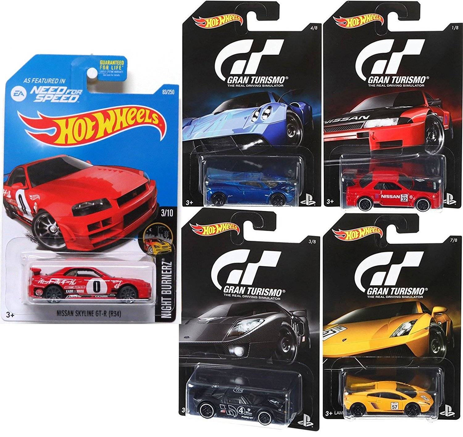 Superbe Hot Wheels Gran Turismo Video Game Cars U0026 EA Need For Speed Nissan Skyline  GT