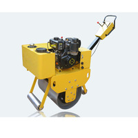 460kg mini hand vibratory road roller,vibration compact roller