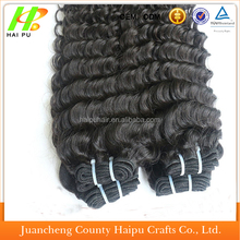 2015 new style good quality hot sell ponytail kinky curly clip in hair extensions