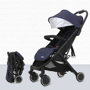 Stainless steel baby stroller pushchair 360 rotation 3in1 baby stroller rain cover