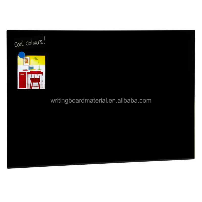 60x90cm 4mm thickness Magnetic Glass white board glass notice board