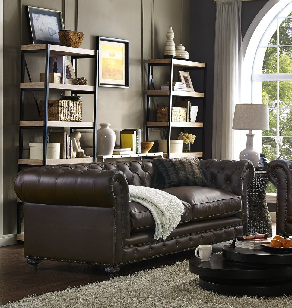 Rustic Leather Sofa Set Find