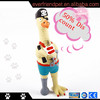 2014 Hot Sale Latex Squeaky Chicken Dog Toy,Special Design Dog Toys