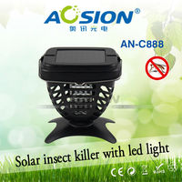 enviroment solar electric bug zapper