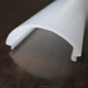 Plastic Cambered Milky LED Lighting Cover PC lampshade