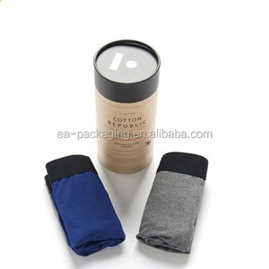 Kraft Paper Tube For T-shirt,Jeans,Clothing 2mm Thickness Cardboard