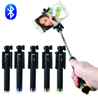 Wholesale New Product automated Wireless Bluetooth selfie stick monopod with Built-in Remote Shutter for Oppo smart phone