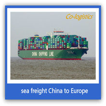 sea freight logistics shipment from Shenzhen to Russia---Elizabeth