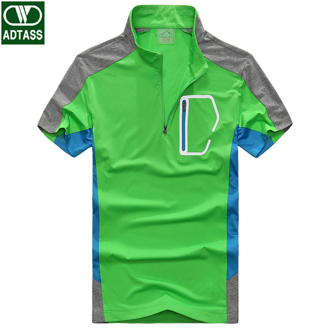 5dd145a2b6a Get Quotations · Top Quality Men Sports Polo Shirts Plus Size L-3XL Quick  Drying Wicking Outdoor Casual