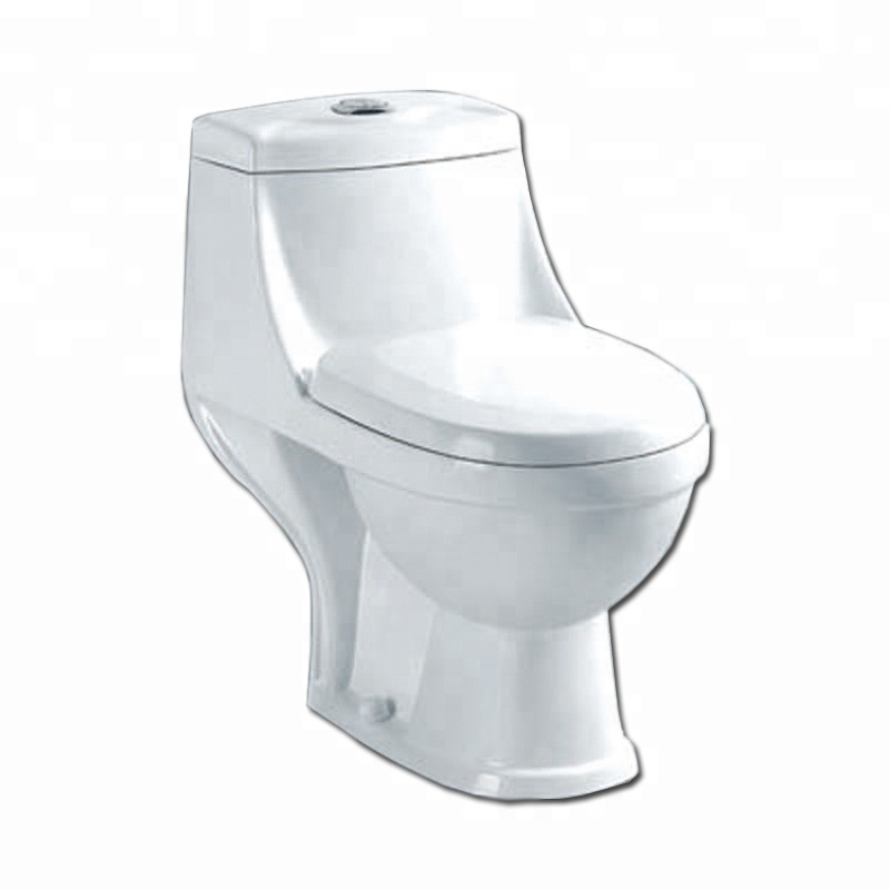China Factory Sanitary Ware Ceramic Toilet Bathroom One Piece Toilet