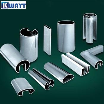 Top Seller Stainless Steel Irregular Shape Tube Pipe