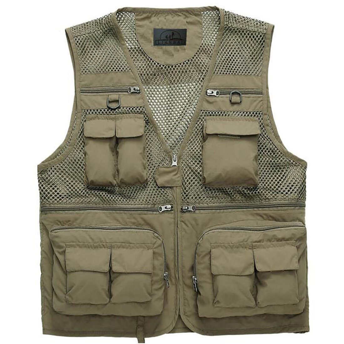New Quick Dry Vest Mens Outdoor Photography Hiking Trekking Climb Fishing Sports Clothing Breathable More Pockets Vest