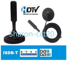 Ominidirectional <span class=keywords><strong>Mobil</strong></span> Antena Magmount ISDB-T/<span class=keywords><strong>ATSC</strong></span>/DVB-T Digital Udara/Indoor Antena TV Model no HD-505