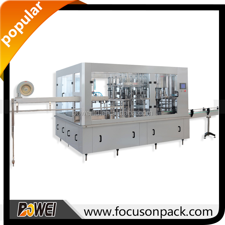 Automatic Filler Capper Automatic Rotary 3000 Water Filling Machine