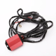 Remote control wiring harness flash led light bar wiring harness wiring kit AWG 14 copper cable 12V 350W