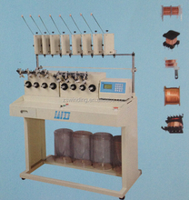 automatic transformer coil winding machine with 4 , 6 , 8 spindle