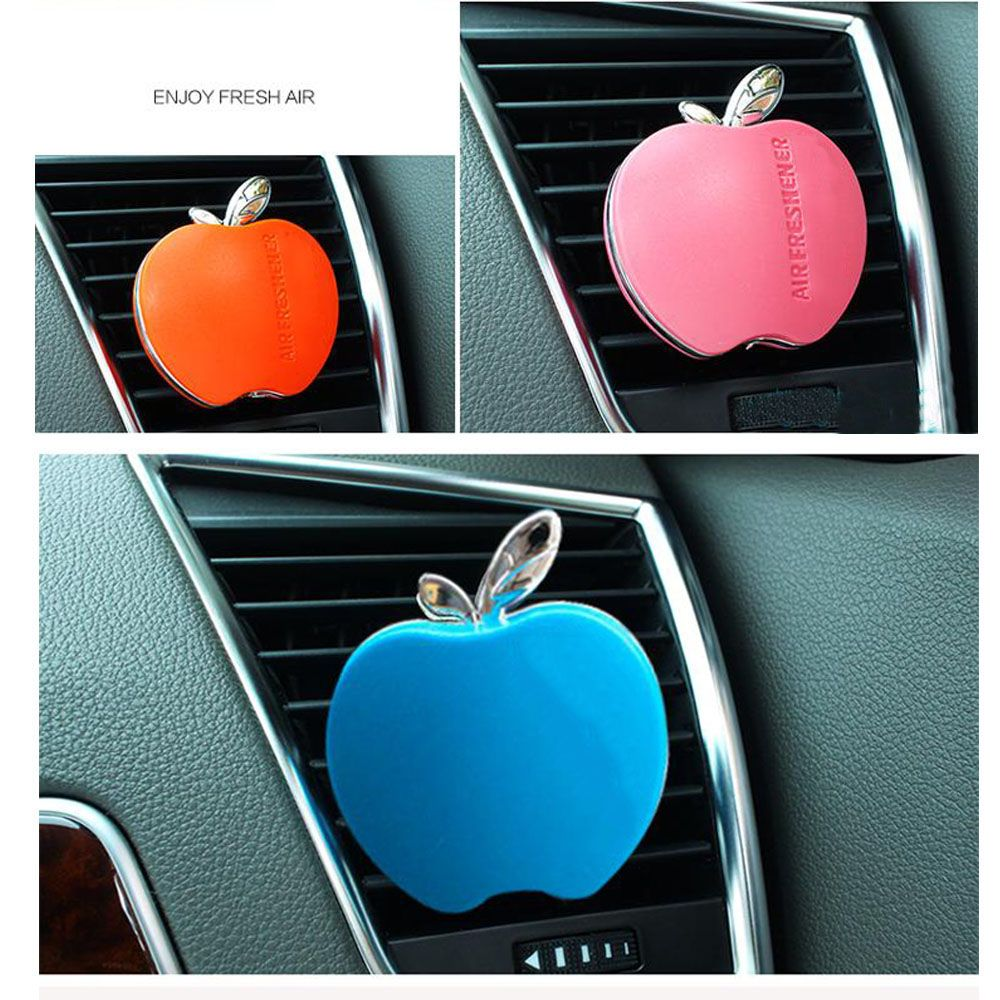 Parfum car-styling Flavor In The Car Perfume 100 Original Apple Shape Air Freshener For VW Ford Kia Renault 1pcs