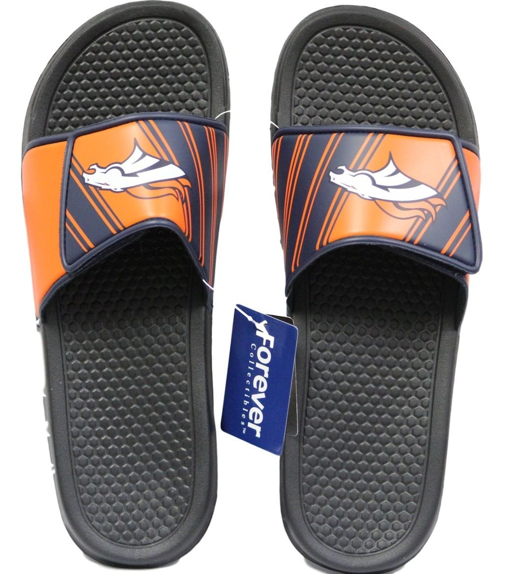 514b4f899 Men's Football Legacy Shower Sport Slide Flip Flop Sandals -- Choose Your  Team