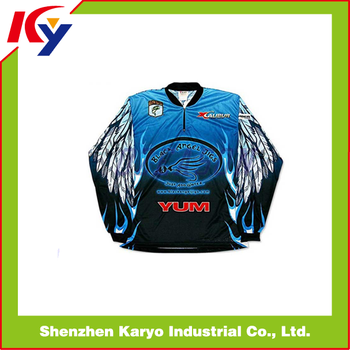 Custom Wholesale Tournament Fishing Jerseys With Top