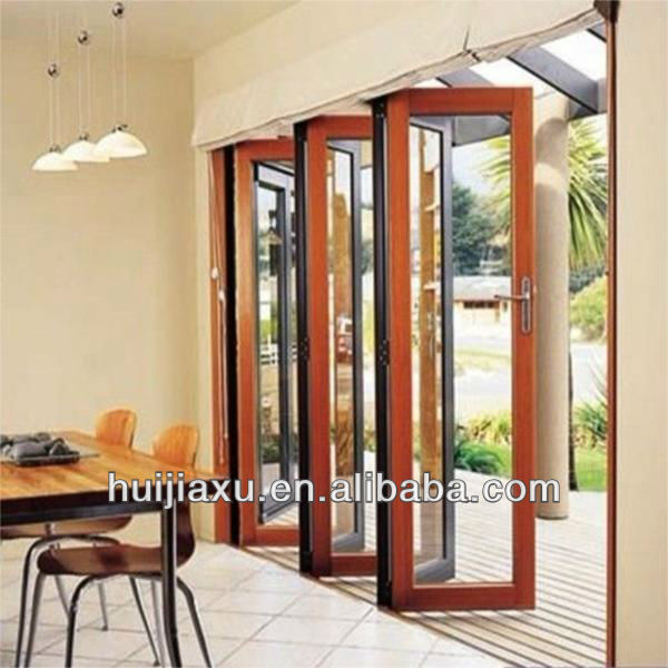 aluminium porte accord on pour balcon bi fold porte verre porte pliante guangzhou foctory. Black Bedroom Furniture Sets. Home Design Ideas