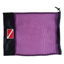 Сетчатая Сумка для хранения с завязками для подводного плавания и подводного плавания, маска для плавания, регулятор SMB, аксессуары для обор...(Китай)