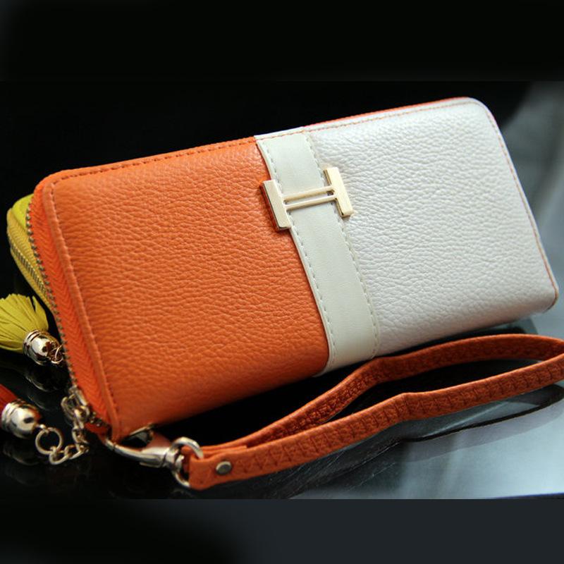 04cf15f24db0 Hot Sale New PU Fashion Long Zipper Wallets High Quality Women Wallets 2015  Brand Women Purse