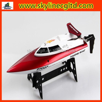 2 4g Remote Control Boat Can Prevent Capsize High Speed Waterproof