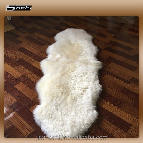 white natural sheep skin lambskin leather hides