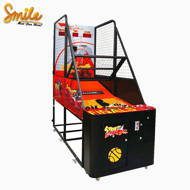 Standard Basketball Game Machine Indoor Sport Redemption Game Arcade Carnival Street Shoot Basketball Game for Adults