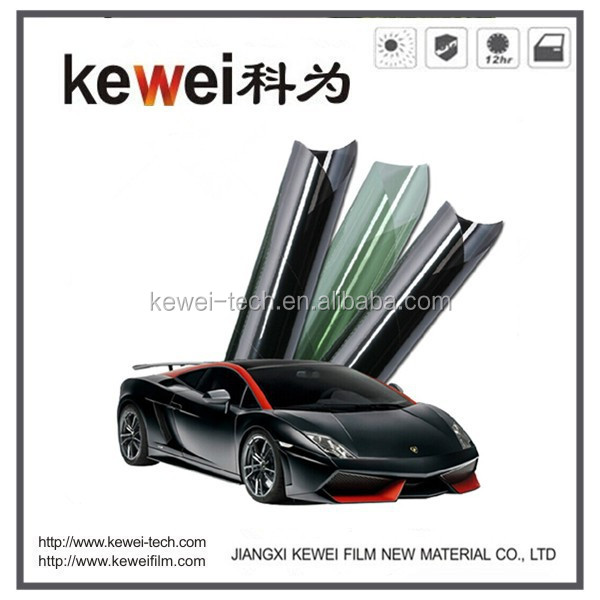 8%-50% VLT,80%-90% Heat rejection, 100% UV protecting Automotive window film