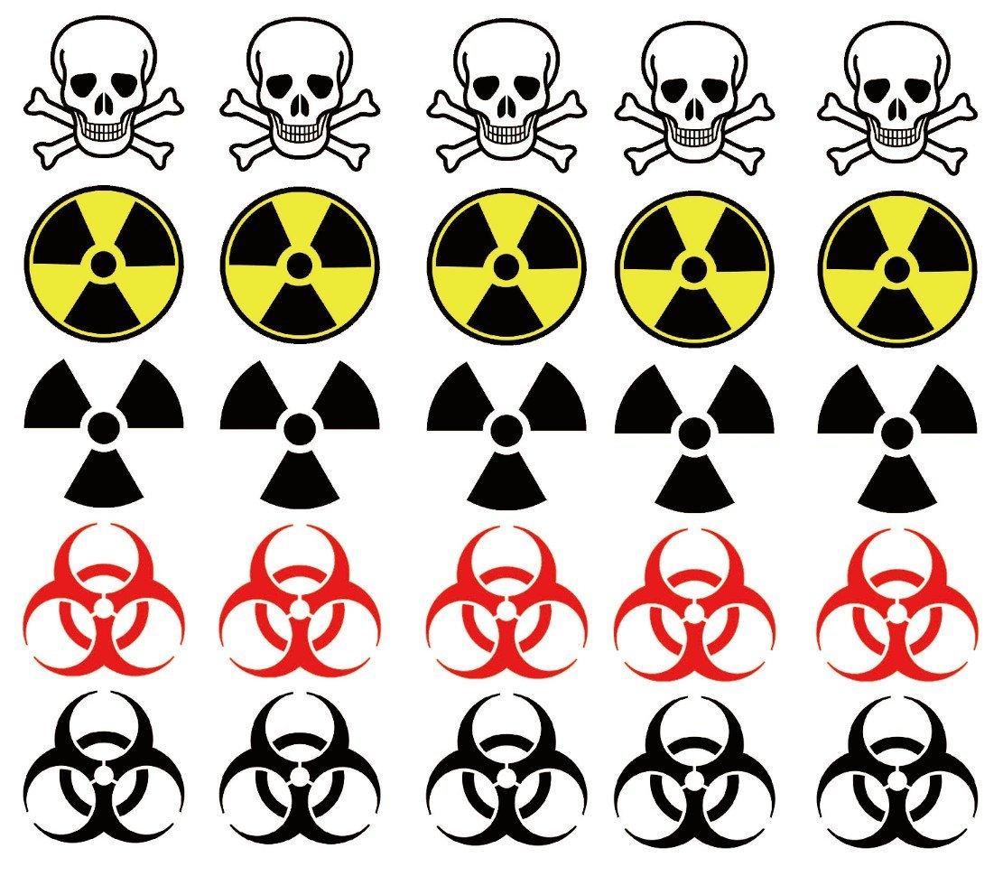 Cheap tibetan symbol tattoos find tibetan symbol tattoos deals on get quotations warning symbol temporary tattoos biohazard radiation poison tattoo biocorpaavc Images