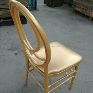 Gold Color PC Resin Infinity Phoenix Wedding Chair